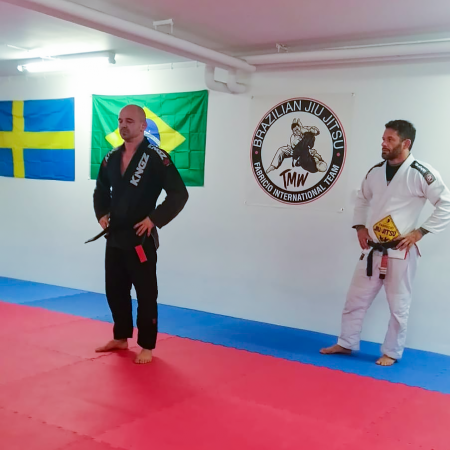 Martin Weigelt, Svart bälte, Mjölby BJJ Jiu Jitsu i Mjölby